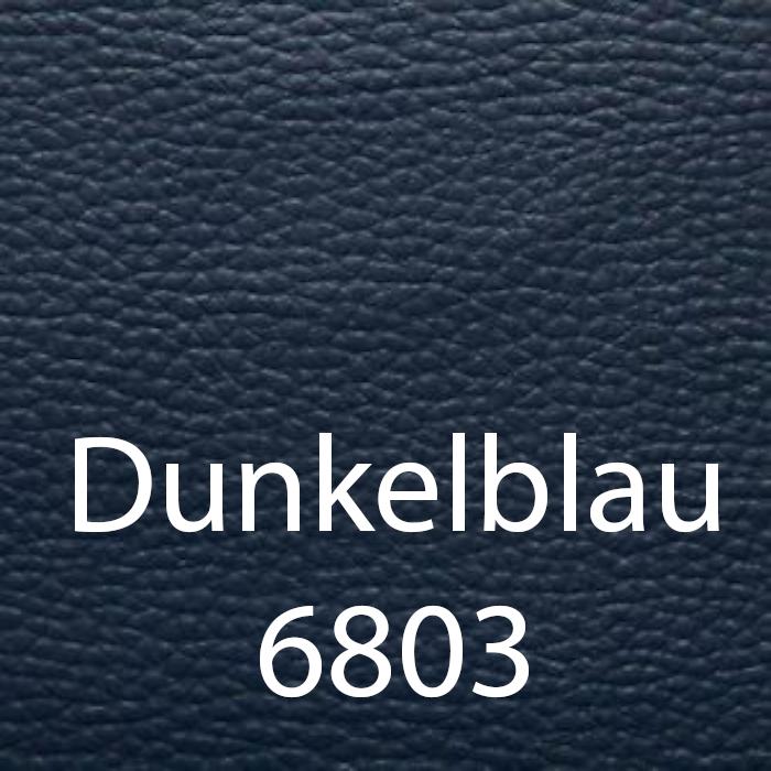 Dunkelblau 6803 Leder