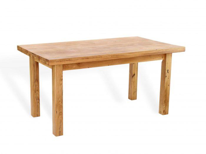 Esstisch mit Zarge aus massivholz geölt