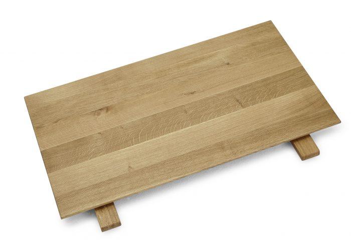 ansteckplatte aus massivholz