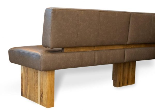 moderne eckbank aus massivholz mit nosagfederung detailbild summer