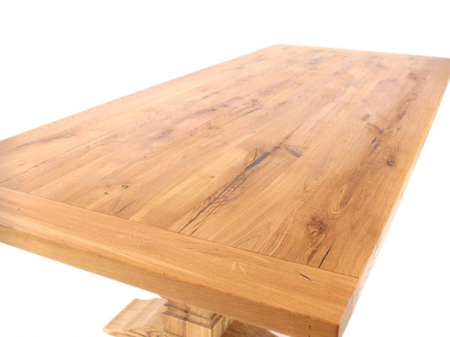 tolle tischplatte aus eichenholz. naturnah möbel