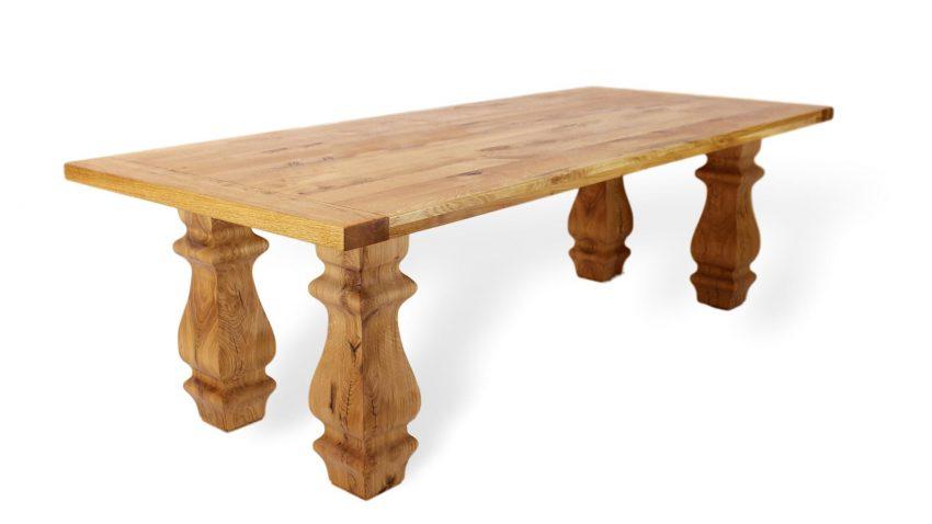 toller großer massivholztisch aus eiche