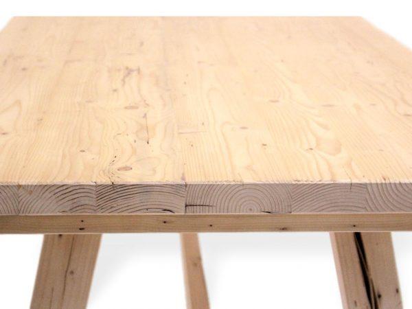 tischplatte aus massivholz fichte maßanfertigung möglich