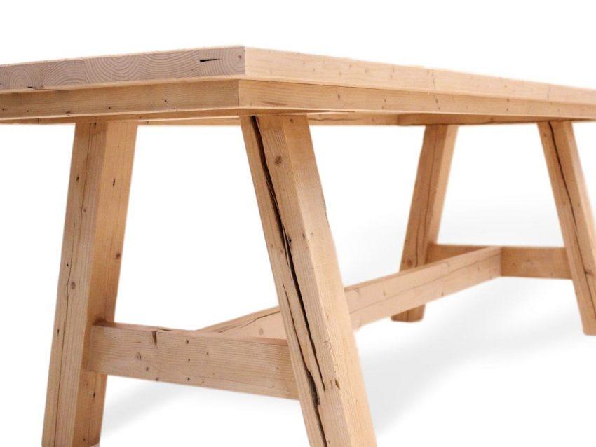 tischbeine aus massivholz in französischen dsign