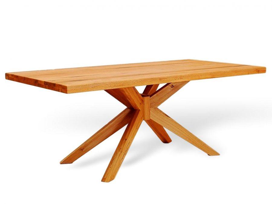 Seltener Massivholztisch aus eiche