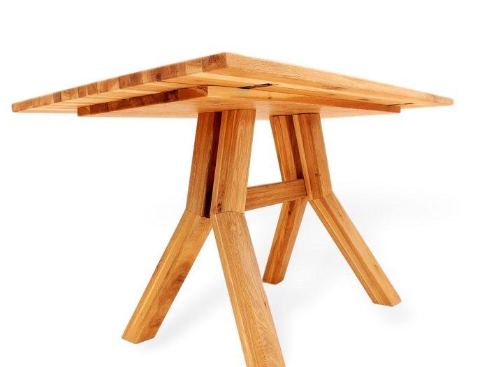 designertisch aus massivholz mit dem besonderen etwas