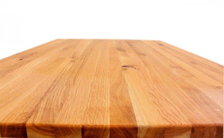 tischplatte aus eichenholz