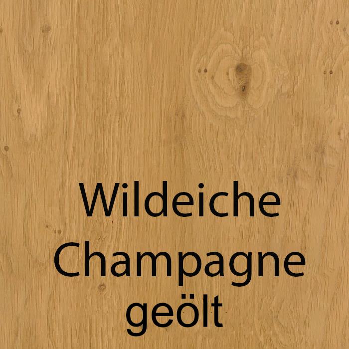 Wildeiche Champagne geölt