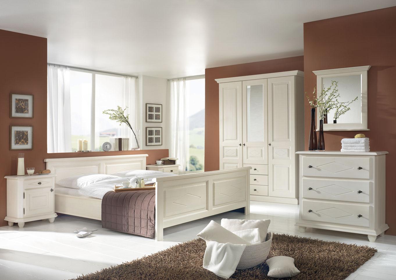 ROMANCE Schlafzimmer Fichte | Zirbe