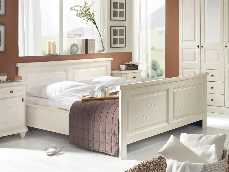 Wunderschones Schlafzimmer Im Landhausstil Naturnah Mobel