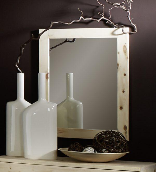 Spiegel aus Zirbenholz