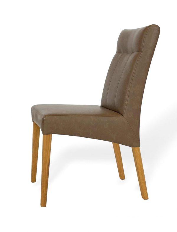 Esszimmer Stuhl Massivholz hochwertig bequem Kunstleder