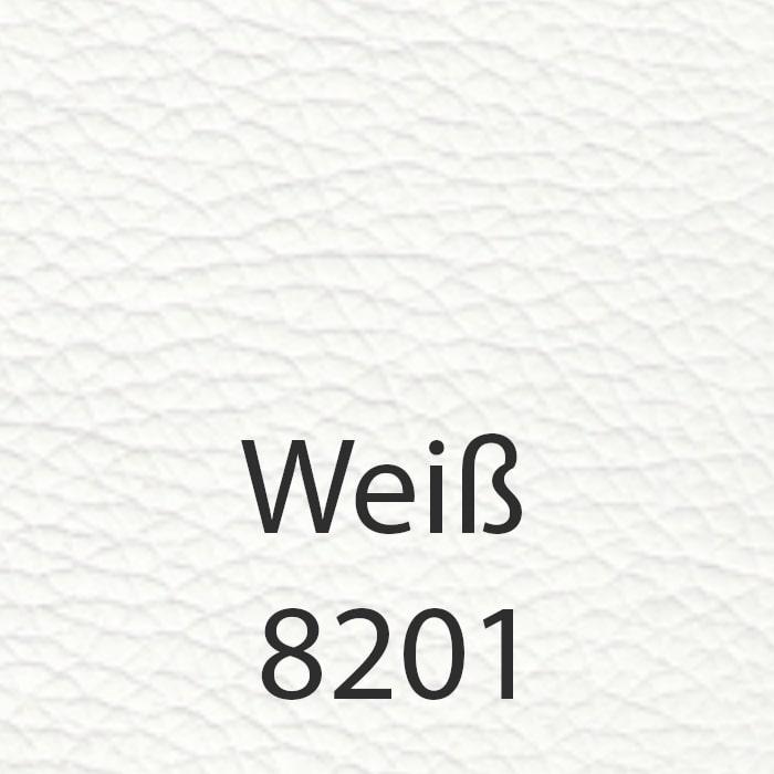 Weiß 8201 Kunstleder