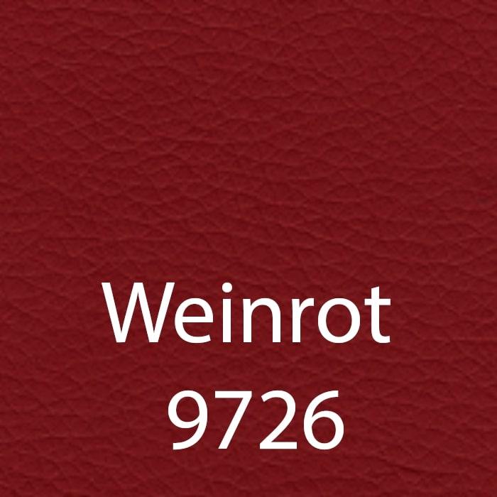 Weinrot 9726 Kunstleder