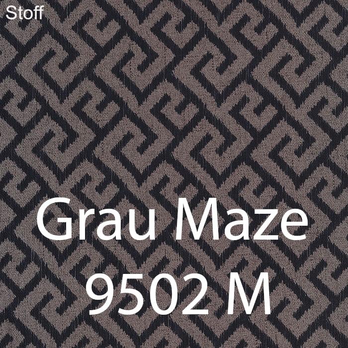 Grau Maze 9502 Stoff