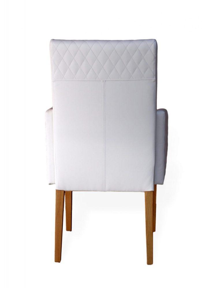Designerstuhl für esszimmer aus leder