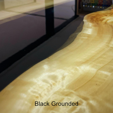 Black grounded