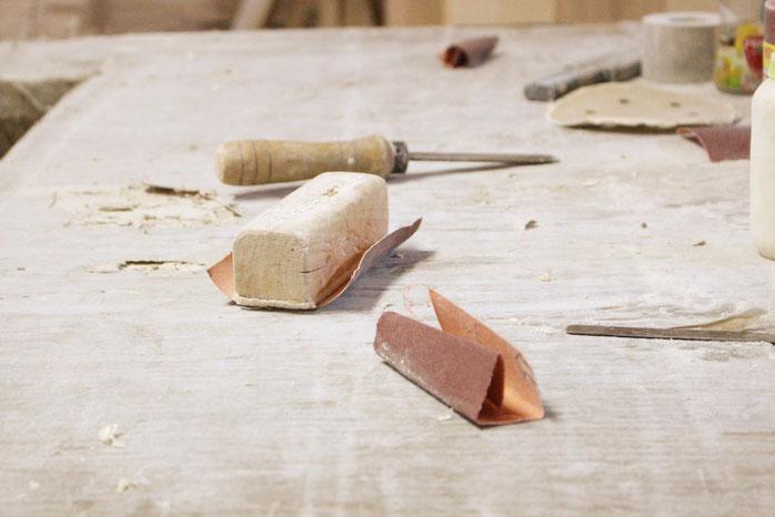 Handarbeit schreiner massivholz