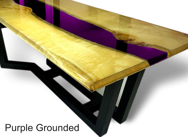 Purple Grounded Epoxid