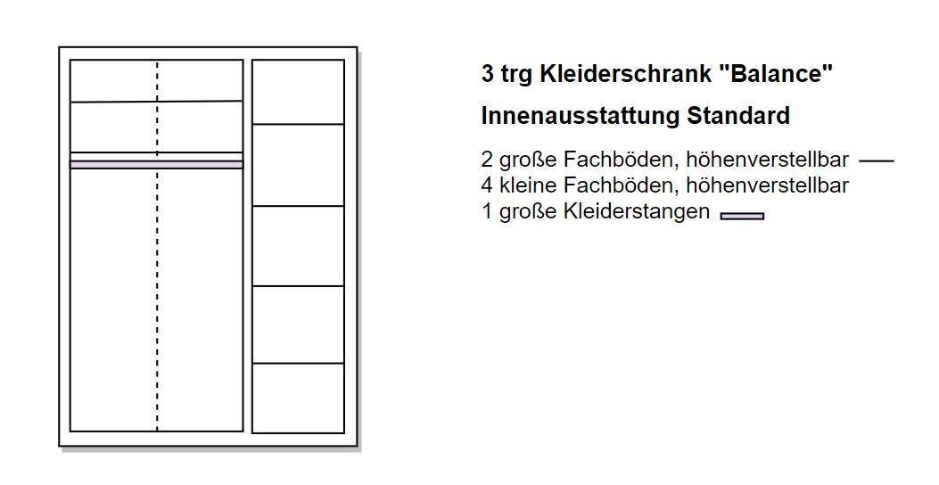 3 türierer Schrank von Naturnah Möbel - Massviholzmöbel auf Maß