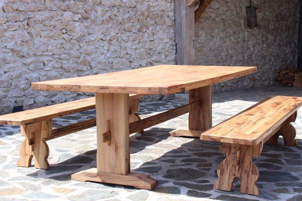 Esstisch massivholz restaurant