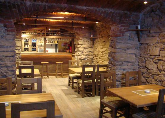 Restaurant massivholz tisch und stühle