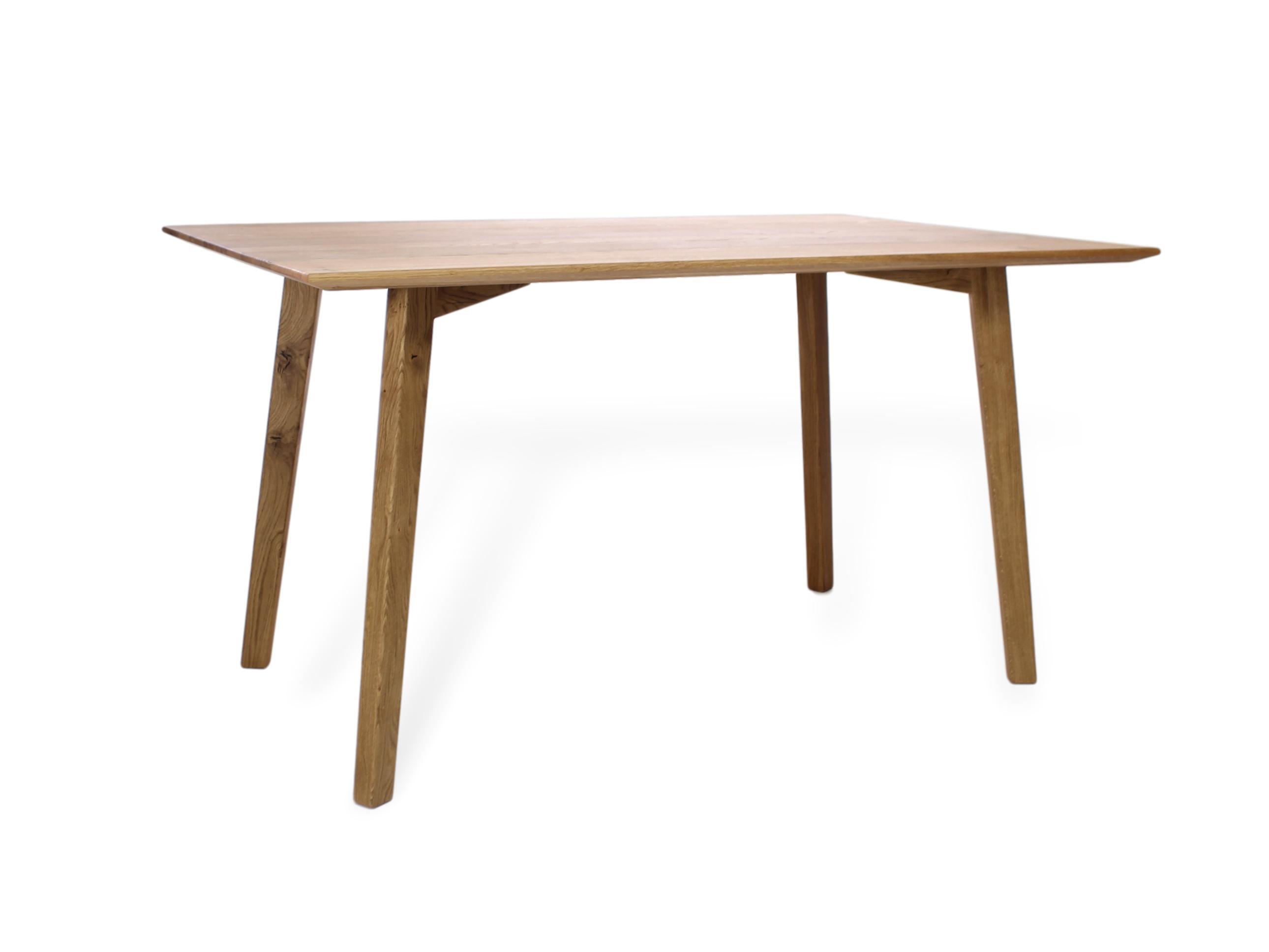 Moderner Esstisch Aus Massivholz Naturnah M Bel