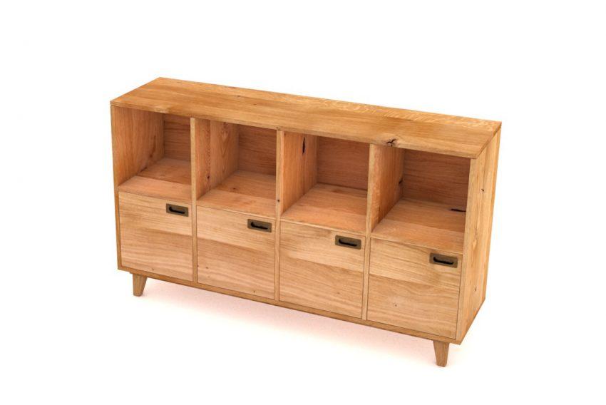 Möbel massivholz für home office kommode