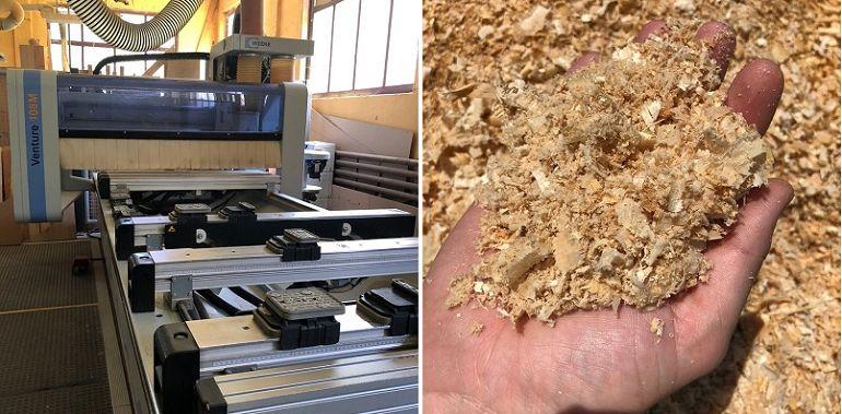 Produktionsbetrieb unserer Massivholzmöbel