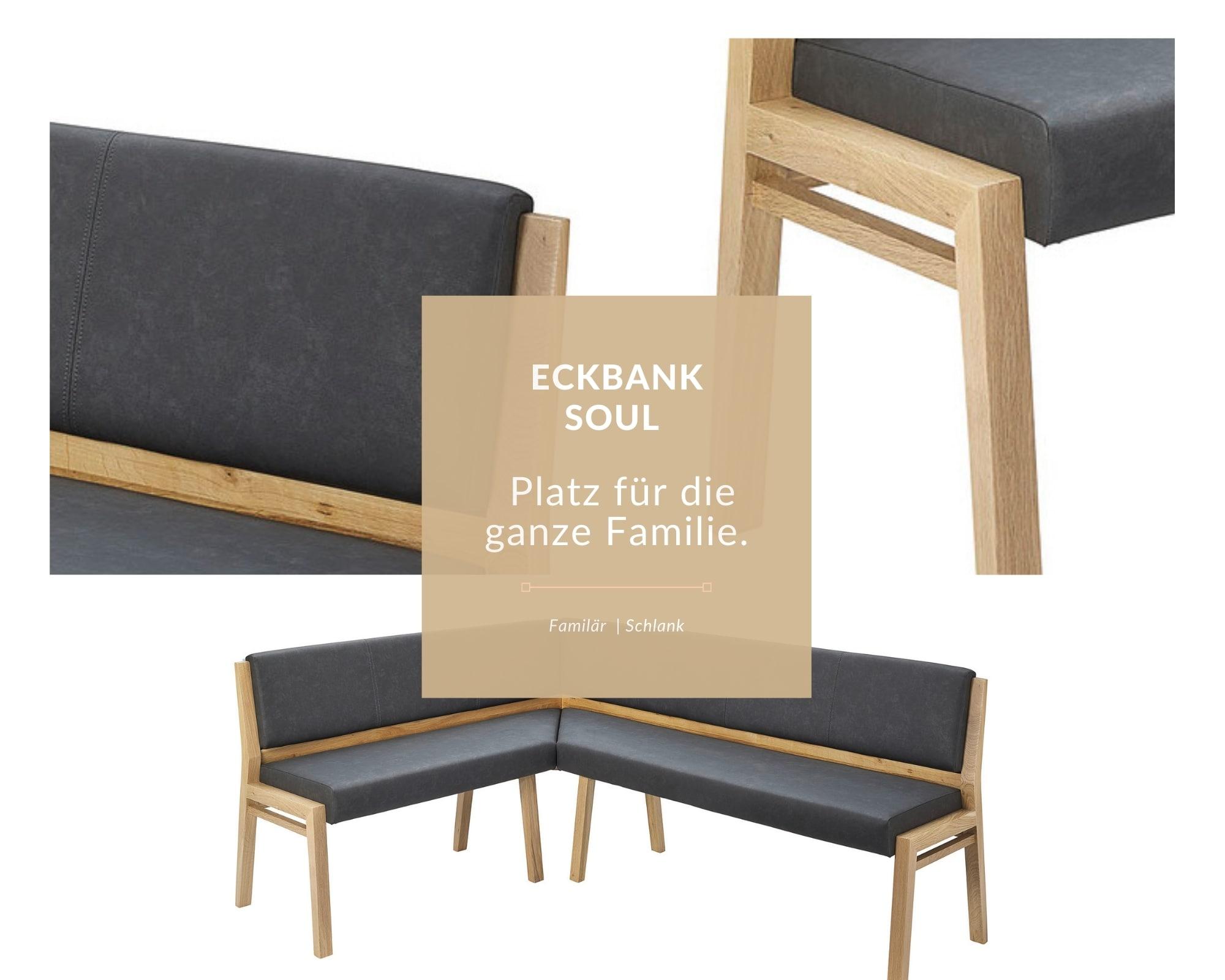 Eckbank aus massivholz in schlanken design- Soul- detailfotos-nach maß