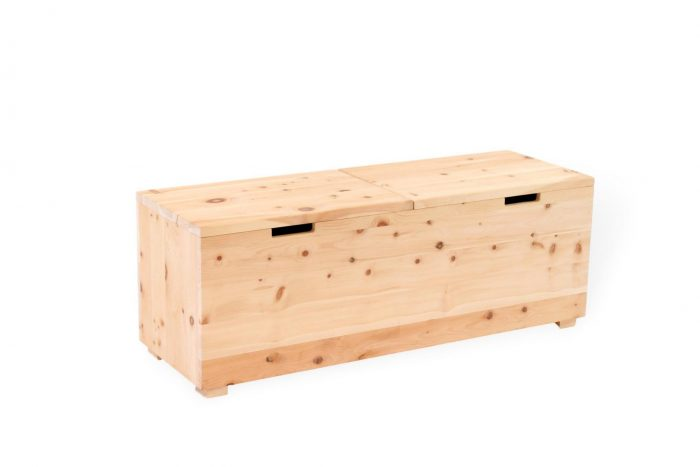 zirbenholz bettkasten aus massivholz