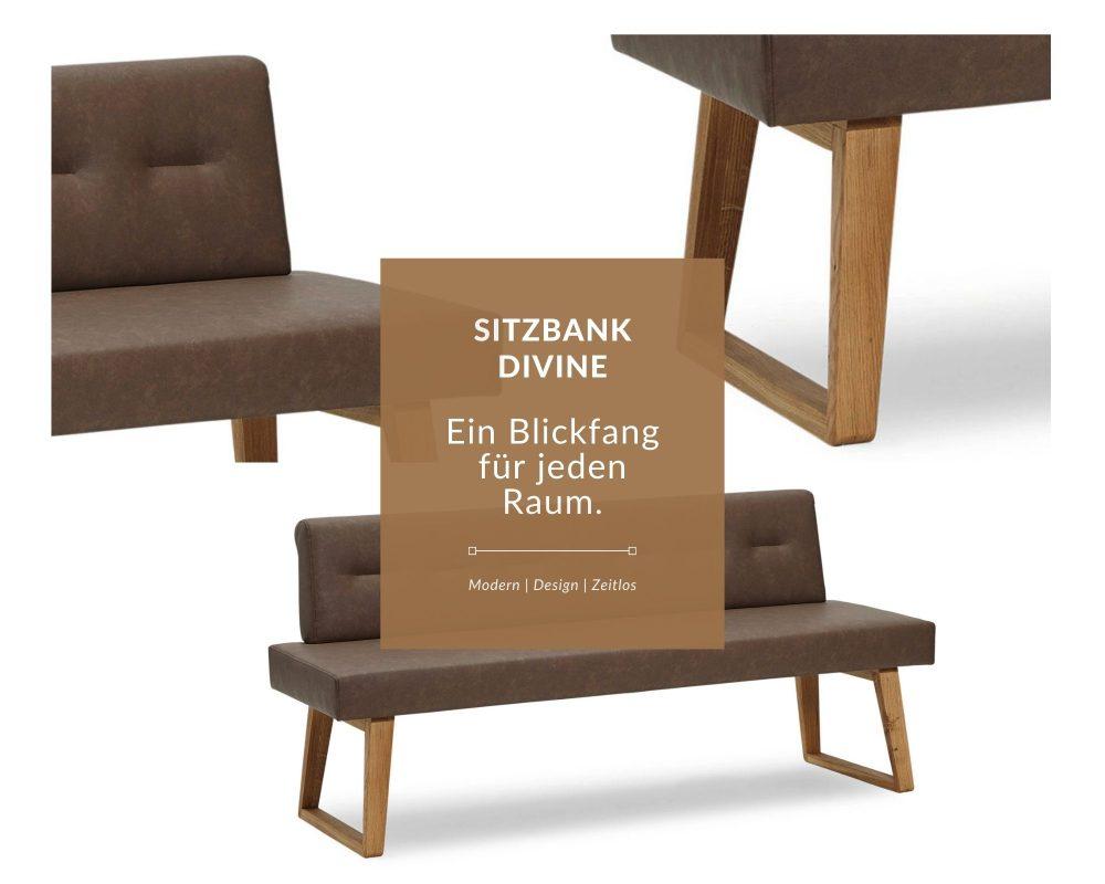 sitzbank aus massivholz divine exklusive details