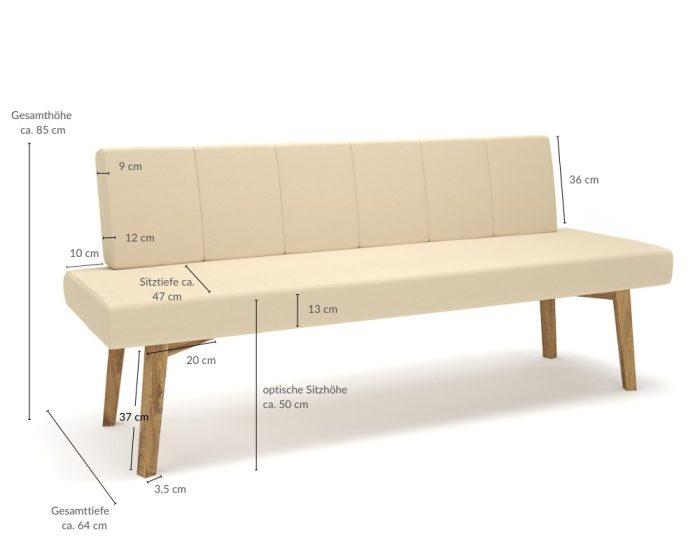 Moderne Sitzbank nach Maß