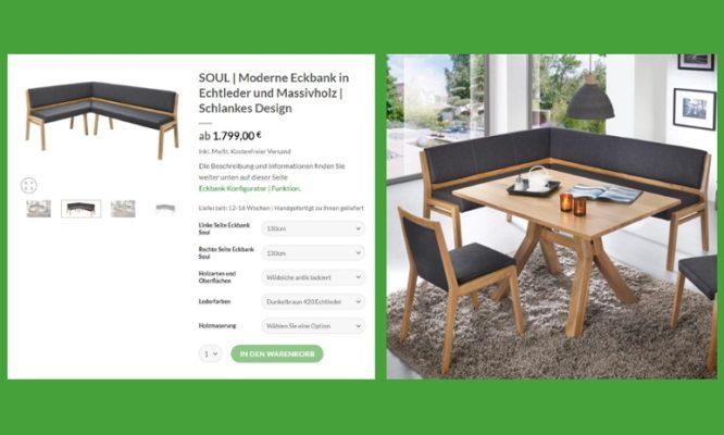 Möbel online kaufen